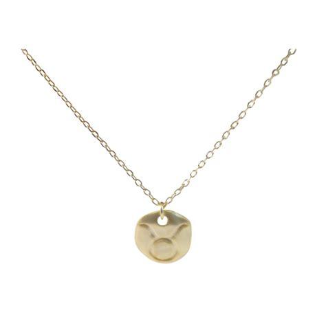 ziba layered taurus necklace in silver lyst