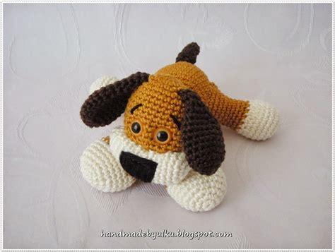 Amigurumi Pattern Dog Free | handmade by 220 lk 252 gratisanleitung amigurumi s 252 223 es h 252 ndchen