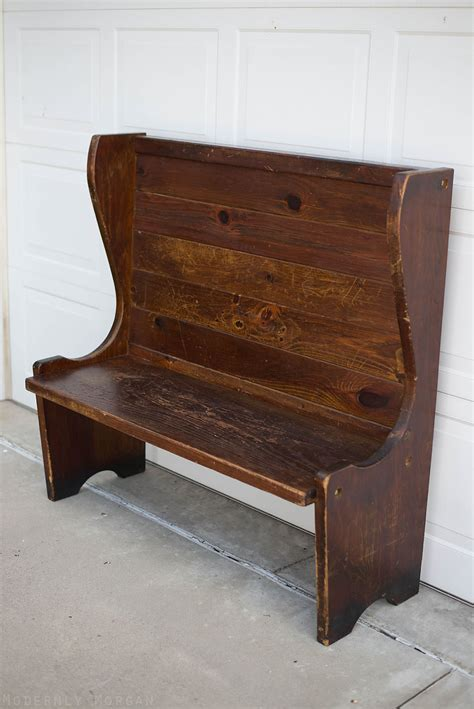antique entryway bench every bench has a story modernly morgan