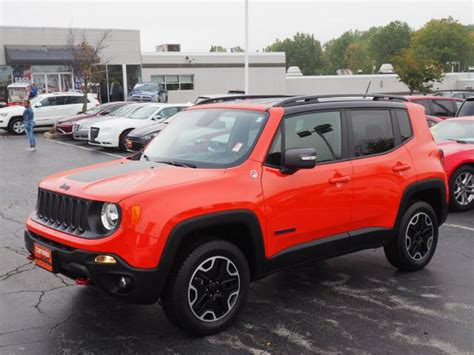 2017 jeep orange 2017 jeep renegade trailhawk for sale youngstown oh 2 4