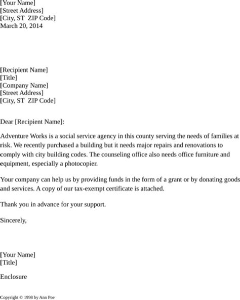 Download Donation Request Letter For Free Formtemplate Department Donation Request Letter Template