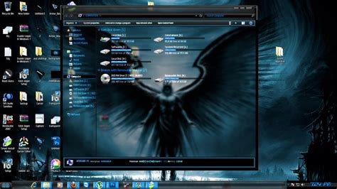 themes download windows 7 transparency theme for windows 7