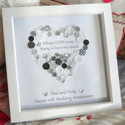 Wedding Box Frame Ideas by Personalised Wedding Anniversary By
