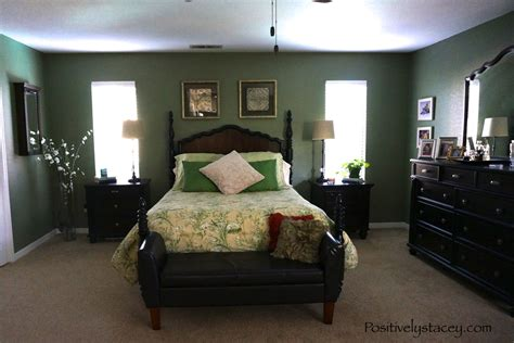 painting bedroom green painting our master bedroom green positively stacey