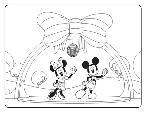 mickey mouse clubhouse coloring pages online micky mouse house colouring pages