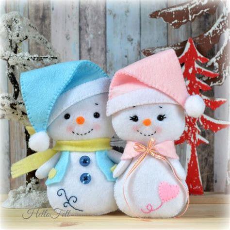 como hacer un snowman de fomi moldes para hacer mu 241 ecos de nieve en fieltro