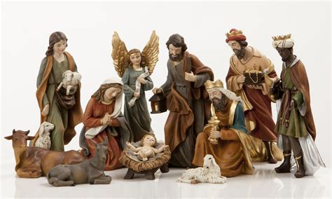 jesus christmas crib statue set buy 50 100 nativity sets