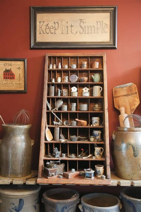 Kitchen Collectibles by Country Collectibles Range From Antique