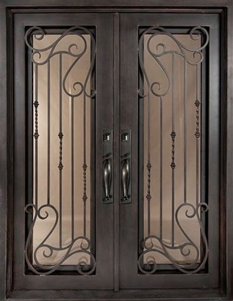 Exterior Door Grilles by Simple Iron Fence Designs Woodworking Projects Plans