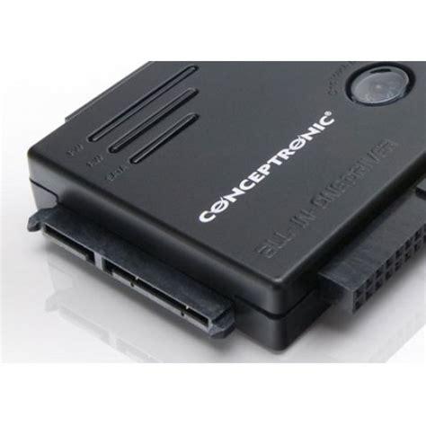 entrada sata conceptronic adaptador hd ide sata 2 5 3 5 usb