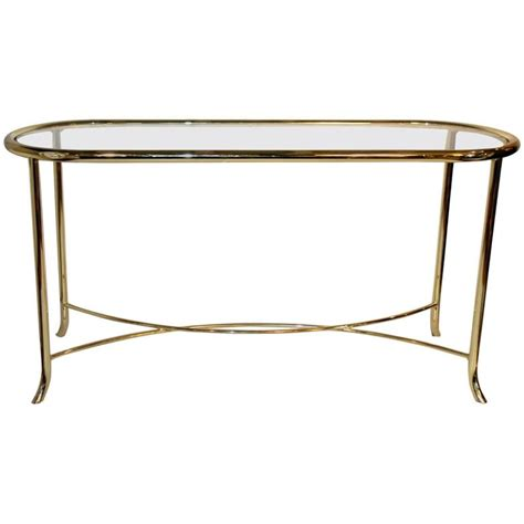 brass sofa table brass console or sofa table by dia for sale at 1stdibs