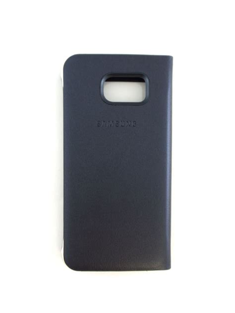 S View Cover S6 2 samsung galaxy s6 s view flip cover folio cell phone blue oem ebay