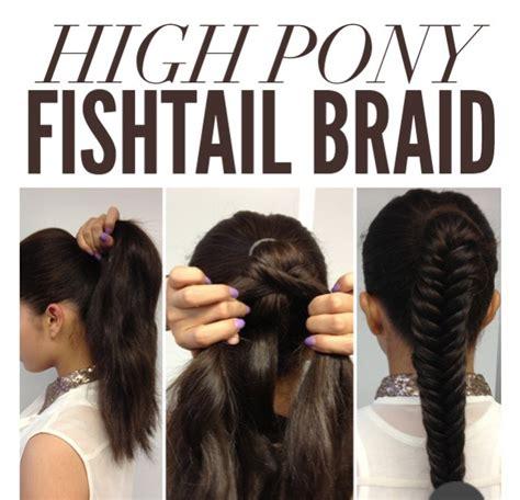 By Elizabeth Garcia 996 Friends 63686 Followers | quot high pony fishtail braid quot trusper