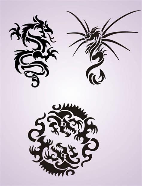 tattoo design stencils tribal dragon stencil patterns