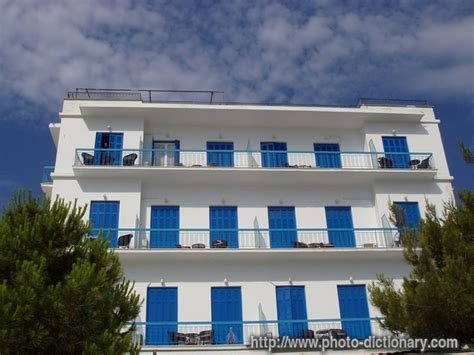 appartment meaning greek apartment building photo picture definition at