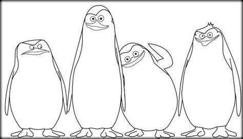penguins movie coloring pages penguins of madagascar coloring pages color zini