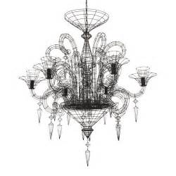 wire chandelier angelus shadow black wire chandelier