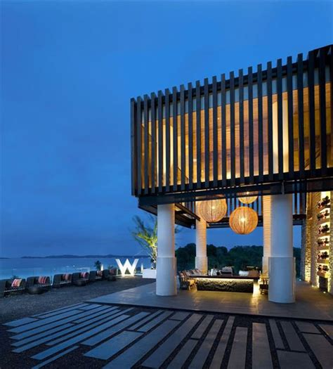 best w hotels island residences offer modern outdoor living