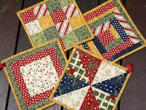 Free Quilted Potholder Pattern by Free Tutorial Pads By