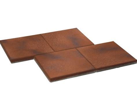 terrassenplatten istone premium beton terrassenplatte istone premium rotschwarz 40x40x4cm