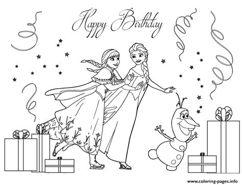frozen coloring page pdf frozen cast ice skating colouring page coloring pages