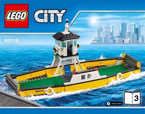 Lego 60119 Ferry City lego ferry 60119 city
