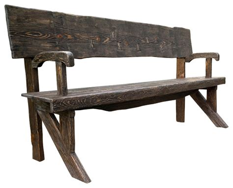 rustic benches indoor rustic style bench natural wood finish rustic indoor