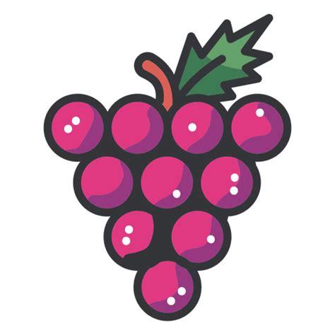 imagenes de uvas kawaii icono de racimo de uvas descargar png svg transparente