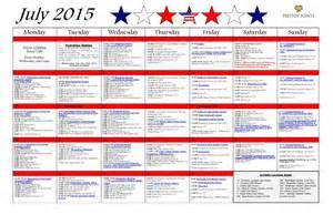 july 2015 activity calendar preston pointe retirement