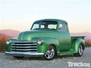 heirloom 1947 chevy truck classic truck truckin magazine