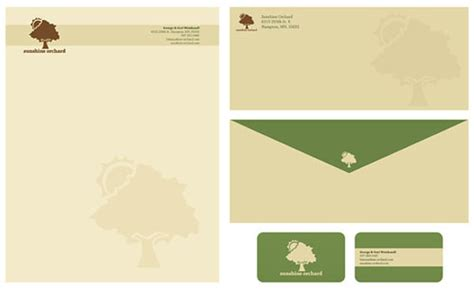 cool letterhead templates orchard letterhead and logo design inspiration