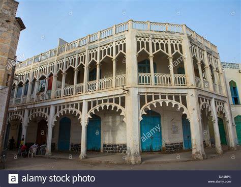 ottoman architecture ottoman architecture building massawa eritrea stock