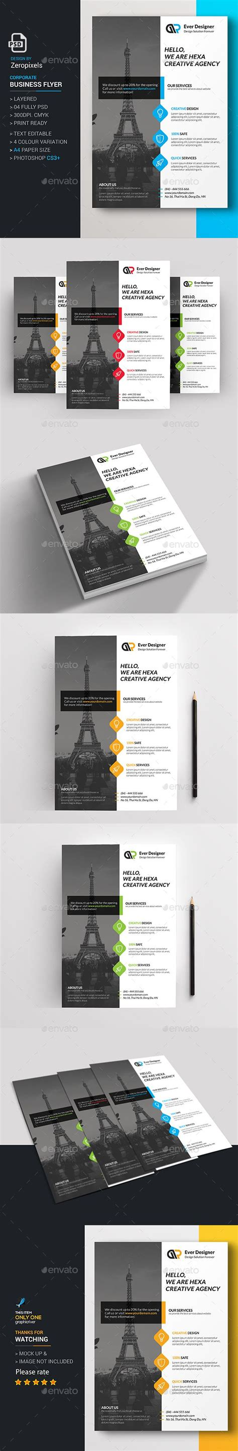 Graphicriver Corporate Flyer Template corporate flyer template psd here http