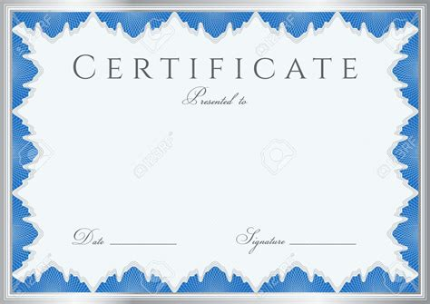 winner certificate template vector award certificate templates
