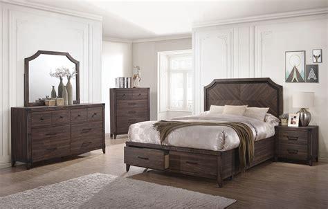 bedroom furniture richmond va richmond dark gray oak storage panel bedroom set from