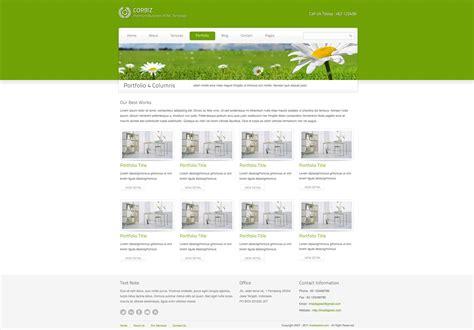 business html template corbiz corporate and business html template by