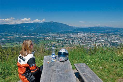 Motorradtouren Villach by Motorradtour K 228 Rnten Loiblpass Kurvenk 246 Nig