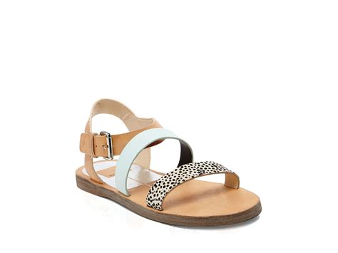 open sandals dolce vita open toe flat sandals veya lyst