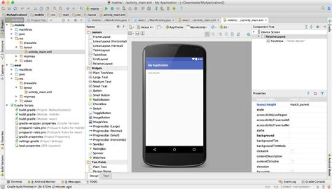 android studio add new layout create a project android studio