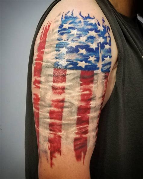 us flag tattoos 85 best patriotic american flag tattoos i usa 2018