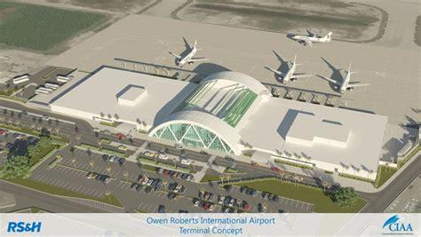 355 Square Feet by Cayman Islands Unveils Owen Roberts International Airport