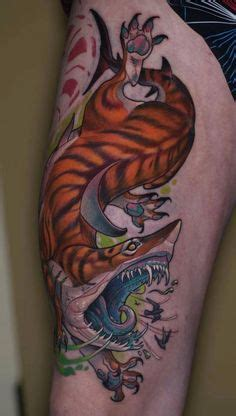 tiger shark tattoo designs 1000 images about t a t t o o s on