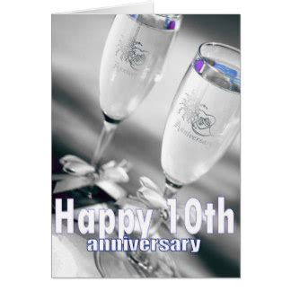 10th anniversary cards photo card templates invitations more