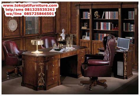 Meja Kantor Lotte Mart meja kantor jati classic direktur www tokojatifurniture