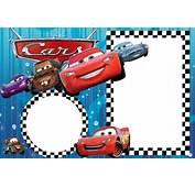 Invitaciones Para Imprimir Gratis De Cars  Ideas Y Material