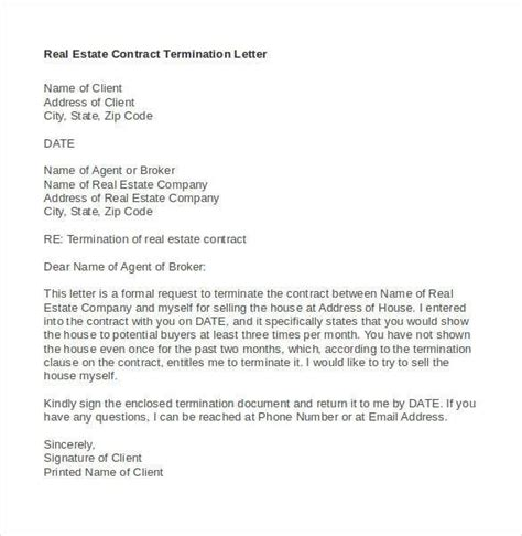 cancellation letter mobile contract business contract termination letter