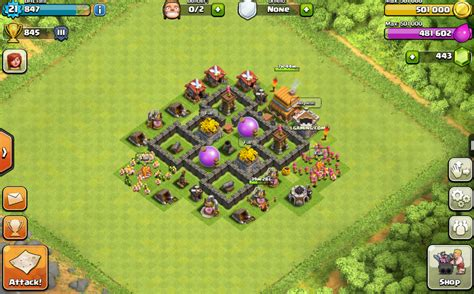 layout in coc th4 th4 base share base layouts bhl gaming