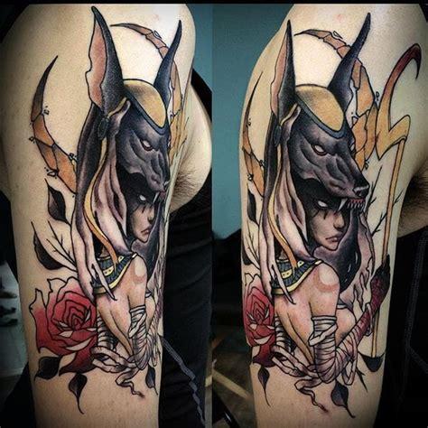 16 symbolic anubis tattoos tattoodo