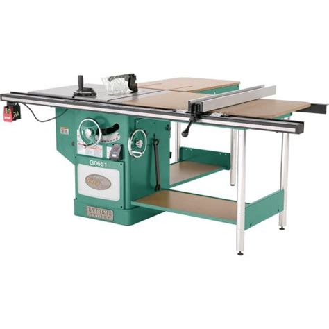 grizzly table saw grizzly g0651 heavy duty cabinet table