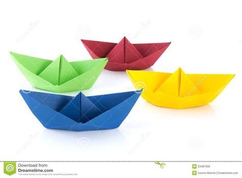 cartoon paper boat paper boats and one individual boat choosing different